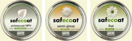 AFM Safecoat Low VOC Primer & Zero VOC Paint
