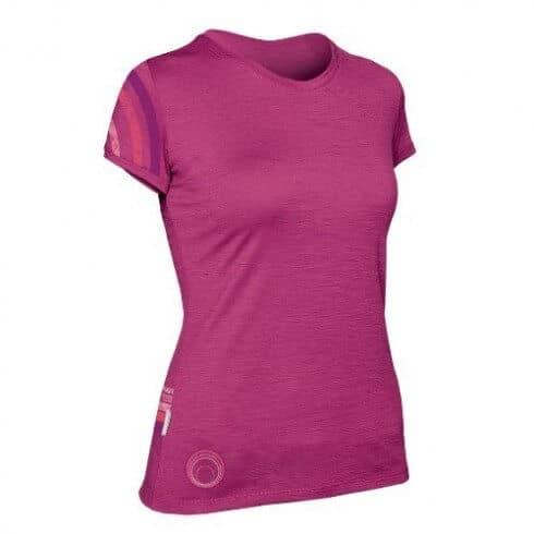 Icebreaker Women's Tech T Lite Sunrise Shirt