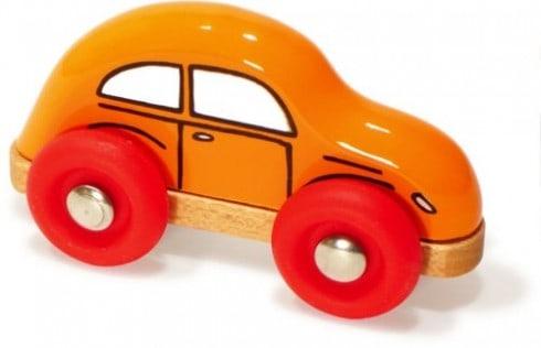 Mini Wooden Beetle Car by Vilac