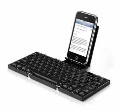 bluetooth keyboard for iphone the best keyboards for iphone metaefficient 2868