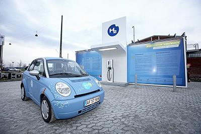 Hydrogen Filling Station In Copenhagen