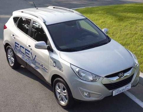 Hyundai Sending Fuel-Efficient Hydrogen Vehicles To Northern Europe