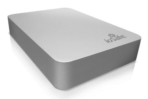 ioSafe Rugged 512GB Portable Hard Drive (Titanium Case)