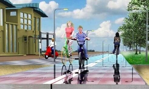 SolaRoad Solar Bike Path