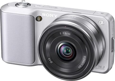 Sony Alpha NEX-3 With A 16mm Lens