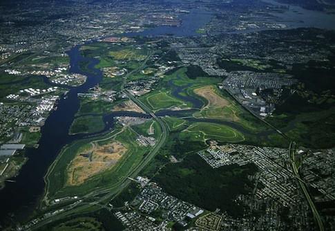 Aerial View Of Fresh Kills Park