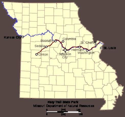 Katy Trail State Park Missouri