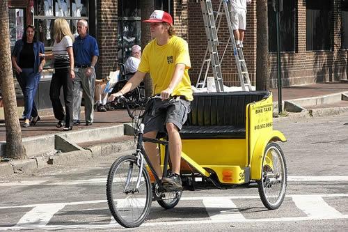 Bike Taxi in Bike City SC