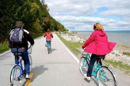 Mackinac Island: Bicycle capital of the world - Mackinac ... |Mackinac Island Bicycle Cafe