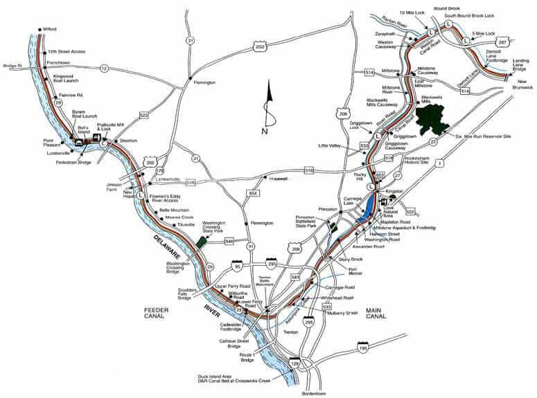 Delaware & Raritan Canal State Park Trail