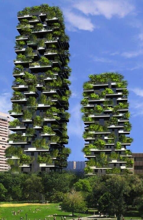 Stunning vertical forest skyscraper by stefano boeri 39 s metaefficient - Immeuble vegetal ...