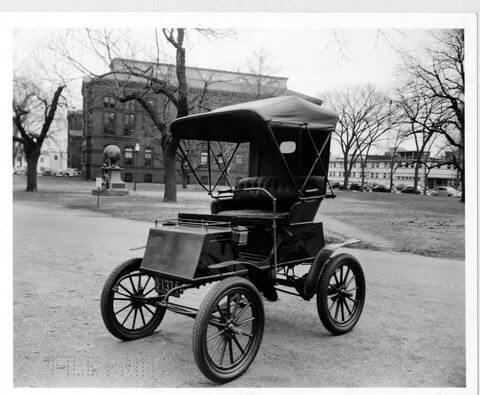 Columbia Mark LX Electric Car, c.1906