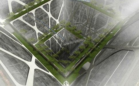 Mexico City Earthscraper Design