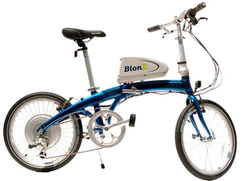 Folding Electric Bike: Dahon + BionX