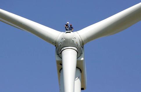 GE 1.5 Megawatt Wind Turbine