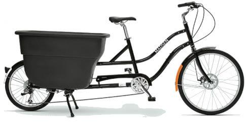 Madsen k271 Cargo Bike With Bucket