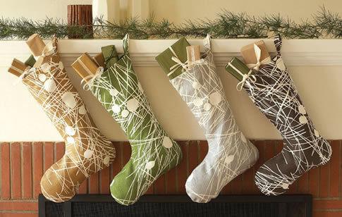 Organic Christmas Stocking