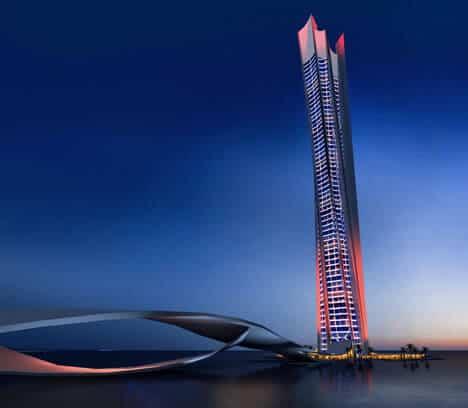 Dubai Seascraper: Green Tower